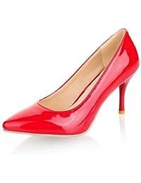 Las Mujeres Tacones Altos Tacones clásicos Bombas de Baile de Boda Zapatos  de la Corte Zapatos Mujeres… 3e7317c961b9