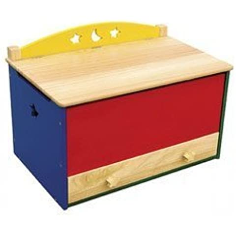 Moon and Stars Toy Box by Guidecraft