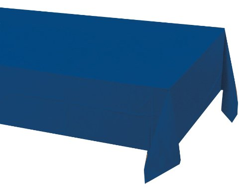 Creative Conversion Touche de couleur papier Banquet Housse de table, Bleu marine