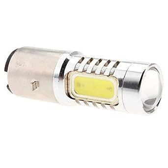 ba20d h6 6w ampoule lumi re naturelle 480lm led blanche pour frein de voiture lampe de. Black Bedroom Furniture Sets. Home Design Ideas