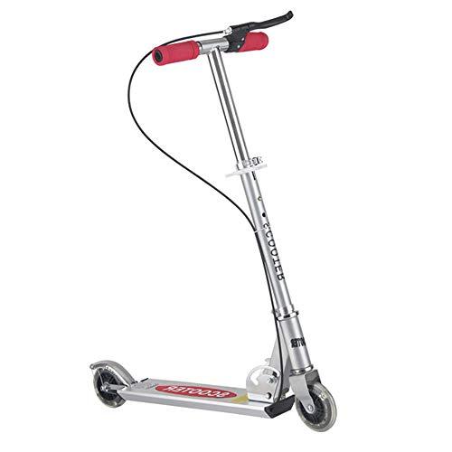 HUIGE Dual Suspension, Hight-Adjustable Easy-Folding Kick Scooter mit Big Wheels für Teens Kids ab 12 Jahren