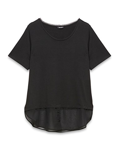 Elena mirò 31p8g088l0870x, t-shirt donna, nero (nero 33), 50 (taglia produttore:41)