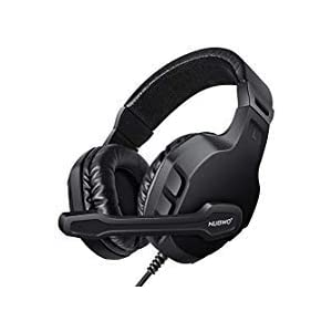 modohe NUBWO Gaming Headset mit Mikrofon für Xbox One PS4Controller, Skype PC Stereo Gamer Kopfhörer mit Mikrofon Computer Xbox One S Playstation 4Xbox 1x Spiele