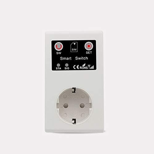 Fesjoy GSM Intelligent Power Socket Llame a SMS APP Control Remoto Switch Pump Router Electric Appliance Intelligent Sockets