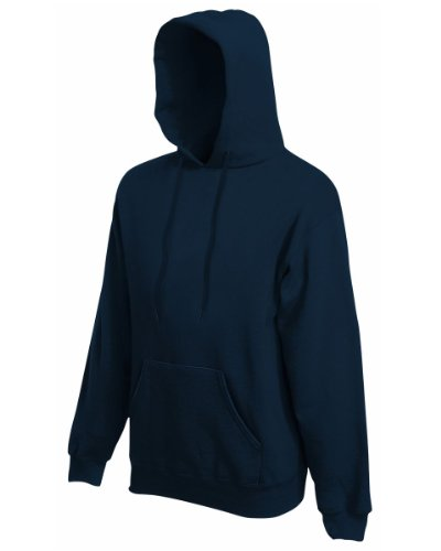 Sweatshirt * Hooded Sweat * Fruit of the Loom Schwarz,L (Fruit Of The Loom)