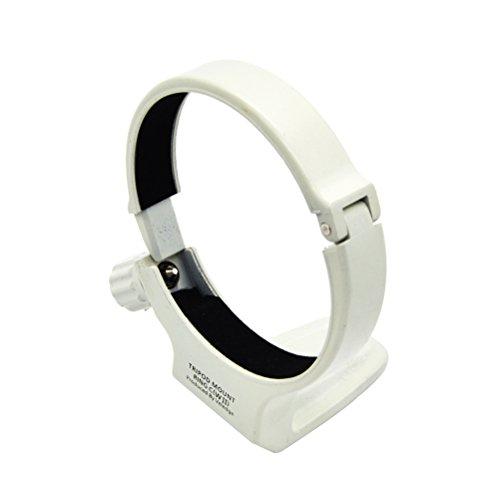 LEDMOMO Metallstativ Ring Mount Kamera Zubehör - Durchmesser 81,5 mm (Weiß) (Tripod Mounts Canon)