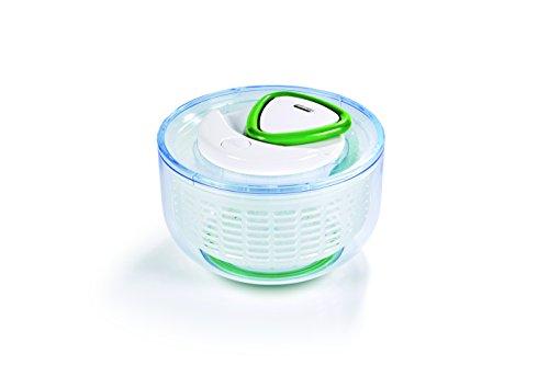 Zyliss E940004 Easy Spin Salat-Schleuder klein, neu, weiß