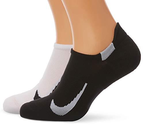 Nike Unisex Erwachsene Sneakersocken (2 Paar), Mehrfarbig (914), S - Mädchen-baseball-socken