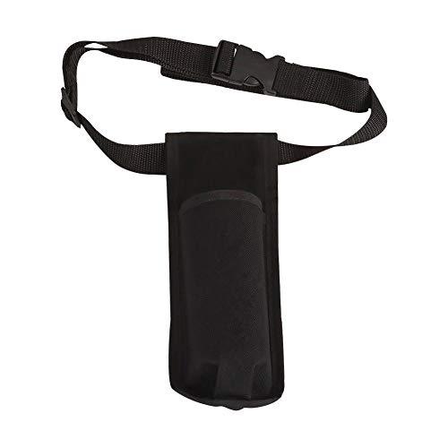 Xploit Massage Oil Lotion Dispenser Supporto per cintura Cintura di massaggio Fondina singola Kit nero
