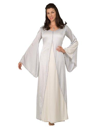 Herr der Ringe Arwen Damen-Kostüm, Kostüm-Set, Stil 1, Standard, (US-Größe 12), Brustumfang 36- 96.52 cm, Taille 27- 76.20 (Kostüm Lady Arwen)