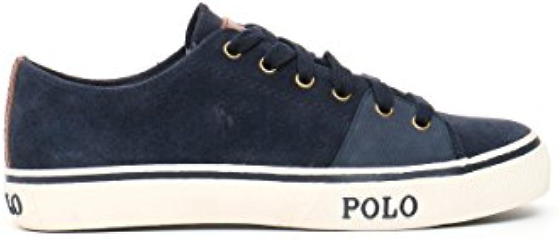 Polo Ralph Lauren Herren Sneaker Velours Chucks Unifarben