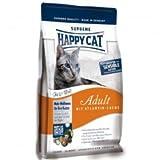 Happy Cat Fit & Well Adult Atlantik-Lachs 1,8 Kg, Futter, Tierfutter, Katzenfutter trocken