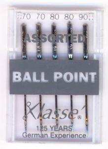Klasse Maschine Nadeln Ball Point, sortiert -