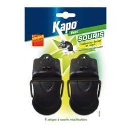 Piège à Mâchoire souris x2 - KAPO 326870