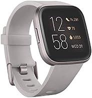 Fitbit Versa 2, Smartwatch per benessere e forma fisica con controllo vocale, punteggio del sonno e musica