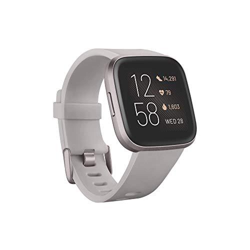Fitbit Versa 2 - Smartwatch per benessere e forma fisica con controllo...