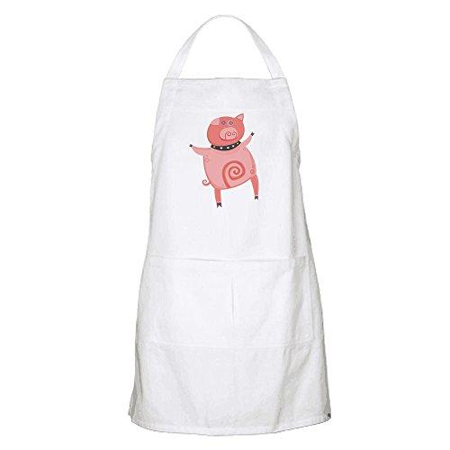 okoukiu Kitchen Series Dancing Cartoon Pig Schürze–personalisiertes Geschenk für Geburtstag, Weihnachten und neues Jahr