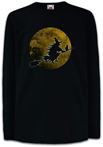 (Witch Moon Kinder Kids Mädchen Jungen Langarm T-Shirt)