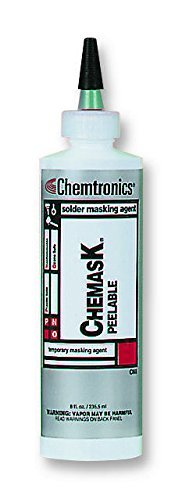 PEELABLE SOLDER MASK, CHEMASK? 250ML CM8E By CHEMTOOLS by CHEMTRONICS
