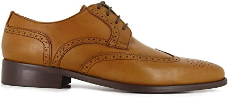 Derby J.Bradford Cuero Camel JB-Alain  Zapatos de moda en línea Obtenga el mejor descuento de venta caliente-Descuento más grande