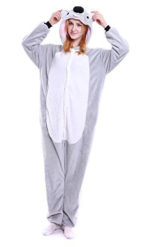 Dingwangyang Uinisex Erwachsene Pyjama Onesie Kigurumi Cosplay Kost¨¹me Tier Overall (Outfit Erwachsene Für Minion)