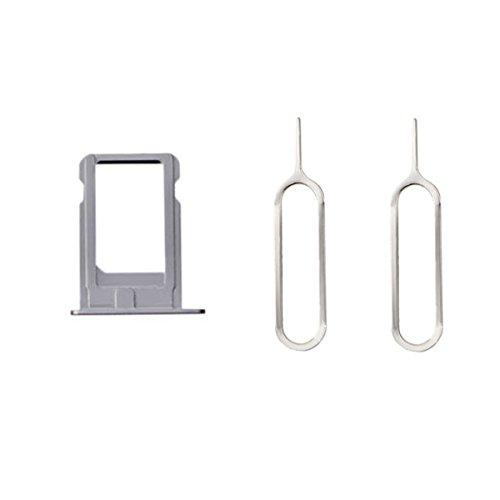 Sim Kartenhalter + 2 Pins Eject für iPhone 5 Silber - 5 Sprint Iphone