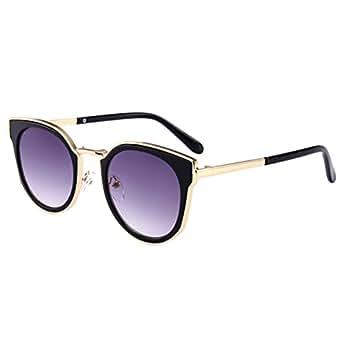 Caripe Kinder Sonnenbrille Retro Vintage Mädchen Jungen Verspiegelt klubbakid
