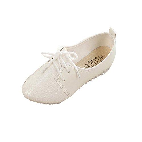 Patifia Schuhe Damen, Frauen Einfarbig Vier Jahreszeiten Arbeiten einzelne Schuhe beiläufige...