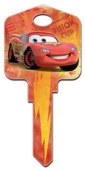 HILLMAN FASTENERS Disney Lightning McQueen Painted Key Blank
