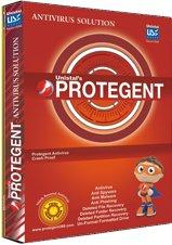 Protegent Antivirus Anti Spyware 1 User 1 Year Anti Malware...