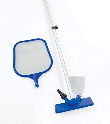 Bestway 58013 Reinigungsset 203 cm für Pools bis Durchmesser 366 cm