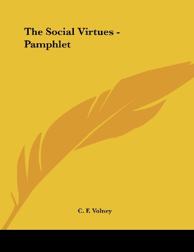The Social Virtues - Pamphlet