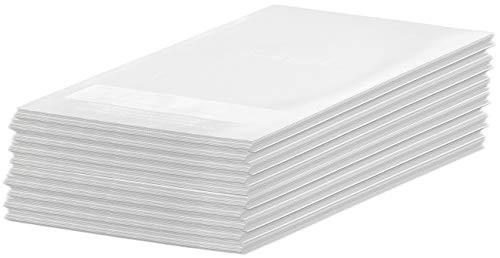 Rosenstein & Söhne Aufbewahrungsbeutel: 100 Profi-Folienbeutel für Balken-Vakuumierer, 28 x 40 cm (Vakuumbeutel)