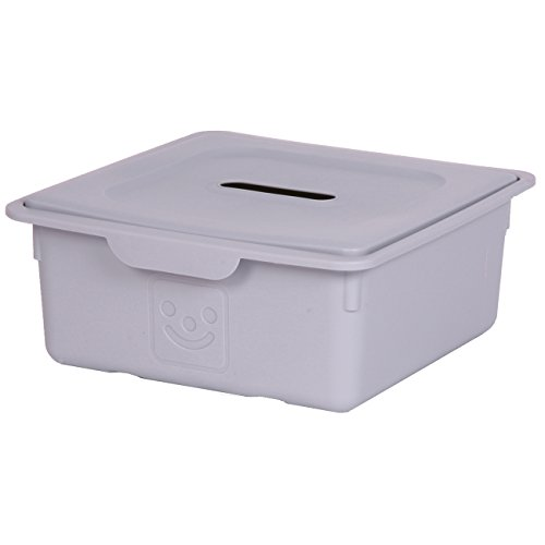 Kids room storage box, Toys storage box, Toys storage unit, Grey storage box - 10 Litre