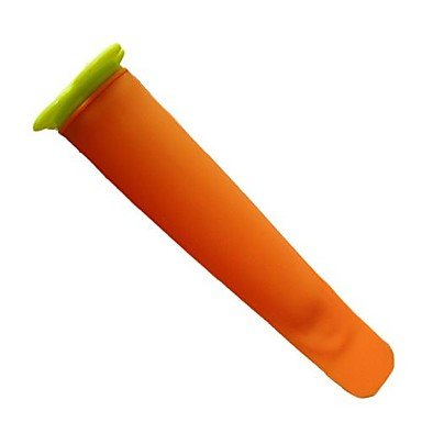 Lolly Bâton Moules Matériau Silicone, 20Cm Longueur , Orange