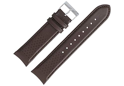 Hugo Boss Uhrenarmband 22mm Leder Braun Glatt - 659302764