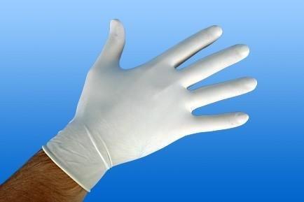NOBAGLOVE-Latex Handschuhe puderfrei angeraut Gr. S 100 St.
