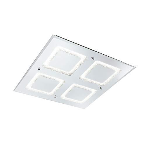 Mantra Iluminazion LED Deckenleuchte SQUARED 51CM - 48W DIAMANTE - CHROME LED 48 W - 4000K
