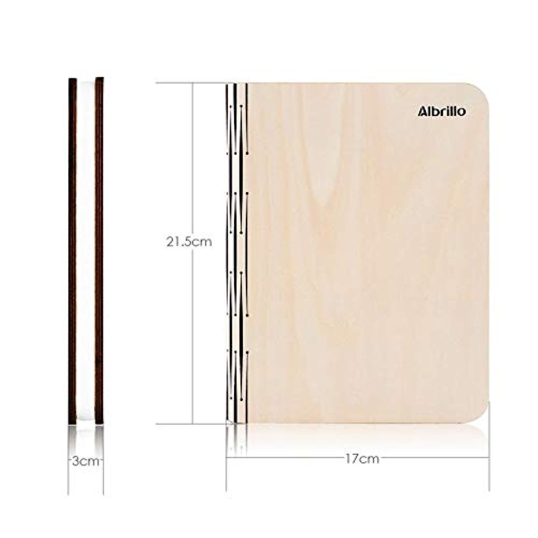 Albrillo Lampe Naturel Papier De LedD'ambianceUsb Imperméable3000k Rechargeable360° PliableEn Livre Bois Et DupontPortable nOw80PkX