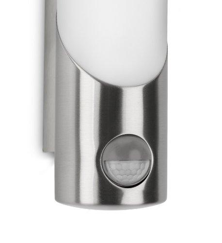 Philips 163404716, Ecomoods Wandaußenleuchte 11W mit Bewegungsmelder, Gartenbeleuchtung