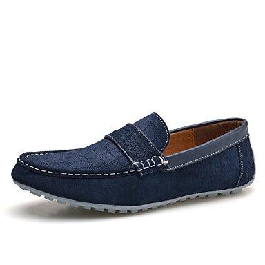 Chaussures d'hommes Office & Carrière / Party & soirée / mocassins en daim décontracté bleu / Gris / Beige / Orange Gray