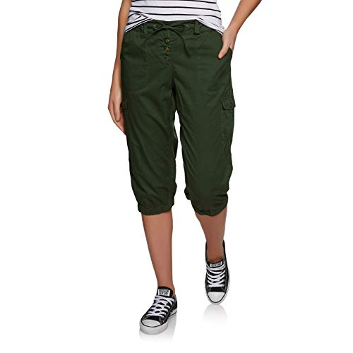 Protest Soup 19 - Pantaloni 3/4, True Olive, XL