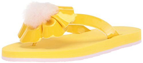Ugg Kinder Sandalen (UGG Girls K Poppy Flip-Flop, Lemon Yellow, 6 M US Big Kid)