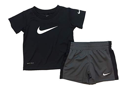 Nike Baby Boys' 2-Piece Shorts Set Outfit Baby Boy Layette Set