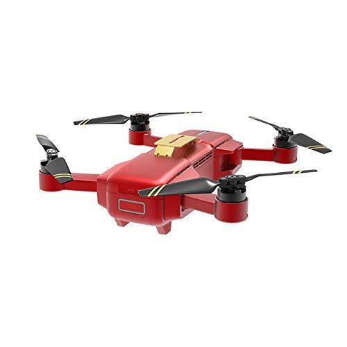Mini Drone Pieghevole,HIGH GREAT Mark Drone Con Videocamera HDR 4K 5.8GHz 720P FPV Selfie Dinamico Quadricottero RC Con Inclinazione A 75°, Nero