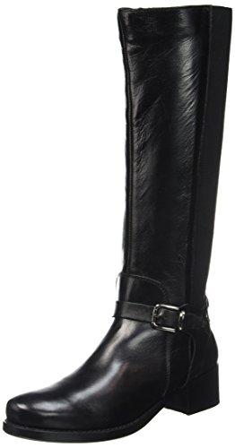Kickers Etri, Bottes Classiques Femme Noir