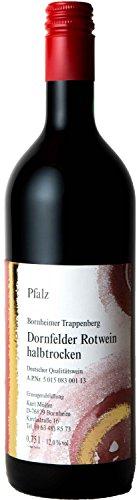 Pflzer-Dornfelder-Rotwein-halbtrocken-1-x-075-L-Flasche-direkt-vom-Winzer