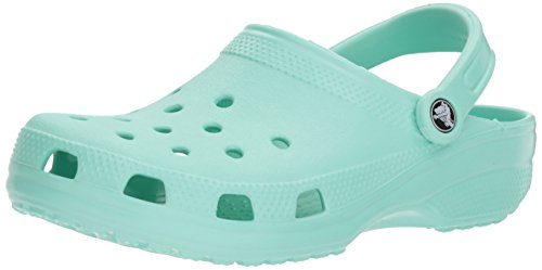 Crocs classic 1001, sabot unisex – adulto, blu (new mint), 39/40 eu