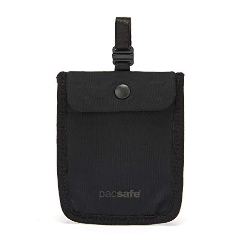 Pacsafe Coversafe S Portadocumenti da collo 11 Nero