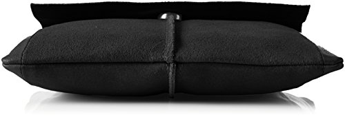 PIECES - Pclilja Leather Cross Body, Borse a spalla Donna Nero (Black)